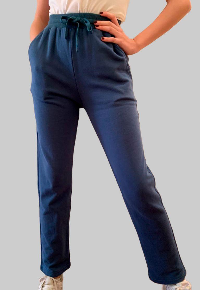 Pantalon Deportivo en Azul